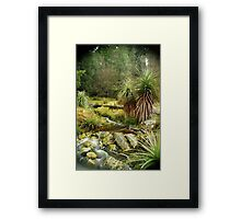 Pandani Grass at Weindorfers, Cradle Mountain Framed Print