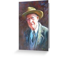 'Portrait of Tom Tehan' Greeting Card