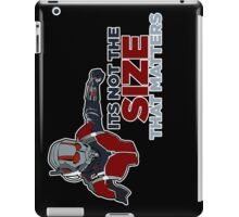 It's not the size that matters! iPad Case/Skin