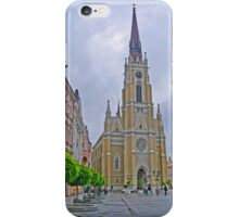 Name of Mary Church, Novi Sad, Serbia iPhone Case/Skin