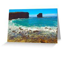 Sweetheart Rock, Lanai Greeting Card