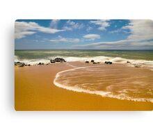 Secluded Beach along Lana'i Canvas Print