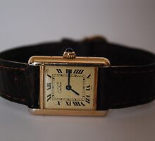 Must de Cartier Tank watch by watches