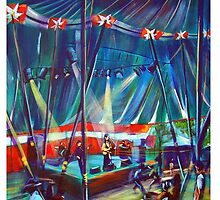 GYMPIE MUSTER -Annie Piper in the Blues Tent by tola