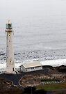 Slangkop Lighthouse, Kommetjie, Cape, S.A. by Elizabeth Kendall