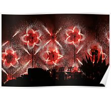 Fireworks at Siggiewi Poster