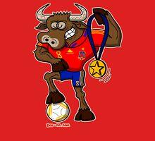 Spain's Football World Cup Champion Bull Unisex T-Shirt