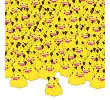 Pikachub Storm Photographic Print