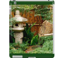 Japanese garden feature iPad Case/Skin