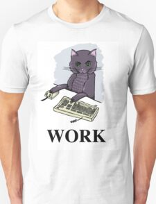 Cat at Work T-Shirt