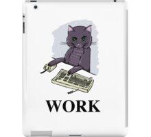 Cat at Work iPad Case/Skin