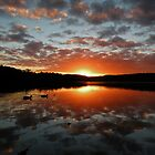 Sunset @ Narrabeen Lakes II by annadavies