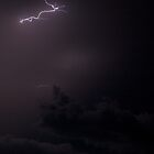 Lightning Storm over Cognac by PaulMcGuinness