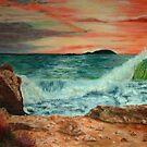 Sardinia Sunset by ienemien