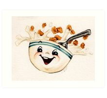 Cereal! Art Print