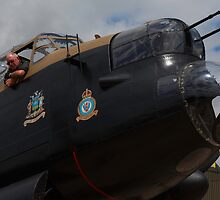 "Lancaster B VII NX611 ""Just Jane"" by Nick Atkin"