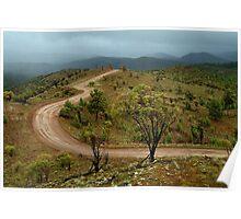 Razor Back Storm, Flinders Ranges Poster