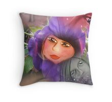 Faces of nature..... Throw Pillow