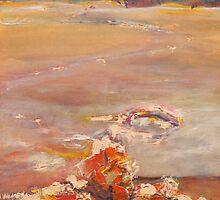 Sunset Glory- Lake King, Western Australia by Carollyn Rhodes-Thompson