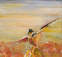 Figure in the Landscape-Lake King by Carollyn Rhodes-Thompson