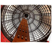 Open Star Bay Doors - Coops Shot Tower Angle 5, Melbourne Poster
