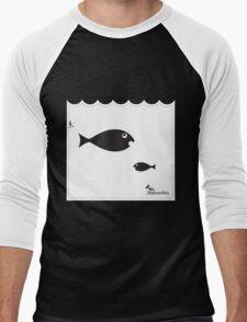 Fisheys Men's Baseball ¾ T-Shirt