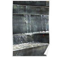 Concrete cascade Poster