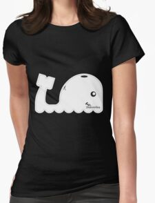 This Whale is 28aboveSea Womens Fitted T-Shirt