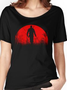 Red moon Women's Relaxed Fit T-Shirt