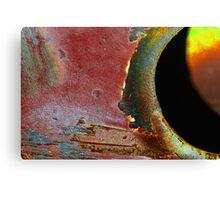 Eclipse in advance. Canvas Print