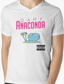 Gary Anaconda ( Parody ). Mens V-Neck T-Shirt