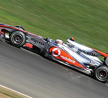 McLaren MP4-25, Jenson Button by Ben Luck