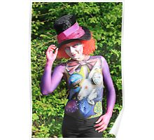 Colourfull Bodypainting Poster