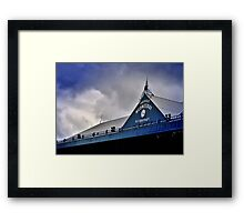 S.W.F.C (north stand) Framed Print