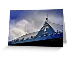 S.W.F.C (north stand) Greeting Card
