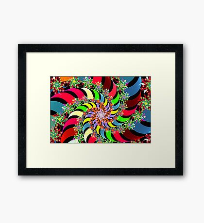 wind spinners Framed Print