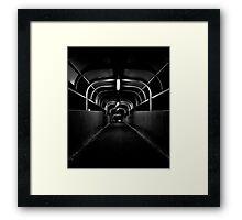 Hornsby Horror Tunnel Framed Print