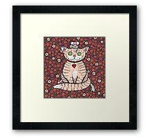 Cat n Mice Framed Print