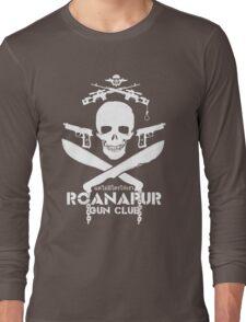 Black Lagoon ROANAPUR GUN CLUB Long Sleeve T-Shirt
