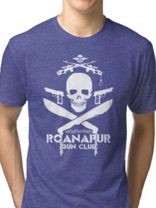 Black Lagoon ROANAPUR GUN CLUB Tri-blend T-Shirt