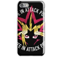 Yugi - Live life in attack position! iPhone Case/Skin