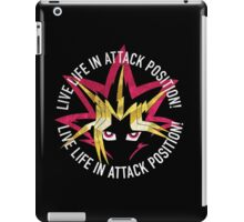 Yugi - Live life in attack position! iPad Case/Skin
