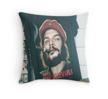 Specter of Che Guevara. Throw Pillow