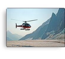 Glacier Landing Canvas Print