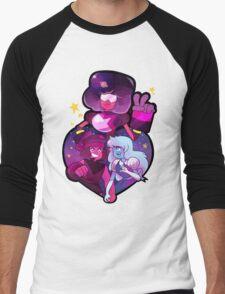 Garnet Men's Baseball ¾ T-Shirt