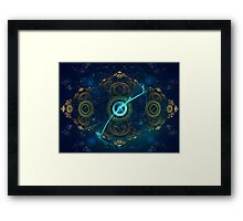 Ticking Clocks Framed Print