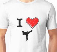 I Love Karate Unisex T-Shirt