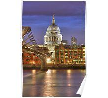 St Pauls, London Poster