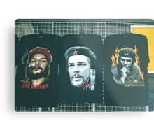 Three Faces of Che. Metal Print