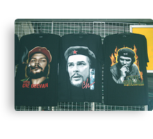 Three Faces of Che. Canvas Print